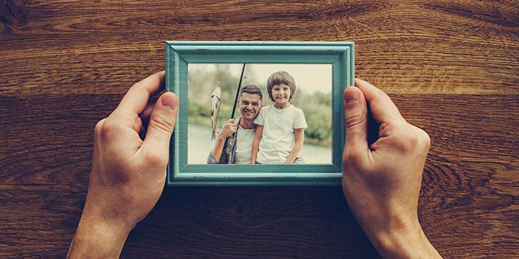 Portarretrato, el marco de los recuerdos
