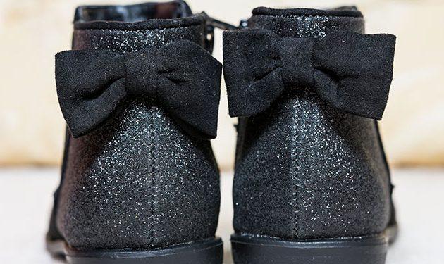 Zapatos con glitter para Halloween