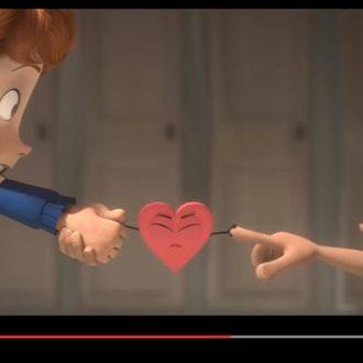 """""""In a Heartbeat"""" el corto animado sobre el amor entre dos niños"""