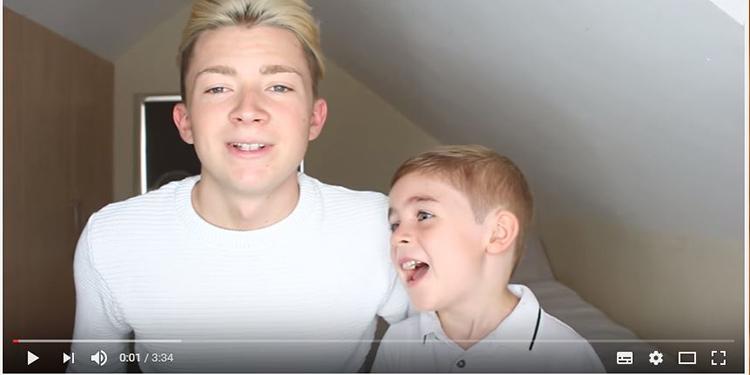 ¡Morirás al ver la reacción de un niño de 5 años cuando su hermano le dice que es gay!