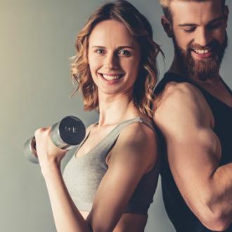 8 ejercicios físicos para hacer en pareja