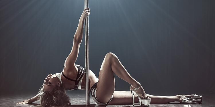 En forma con Pole dance